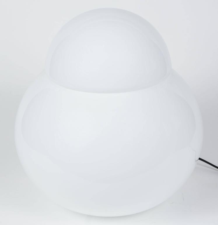 Italian Large Sergio Asti 'Daruma' Table Lamp for Fontana Arte For Sale