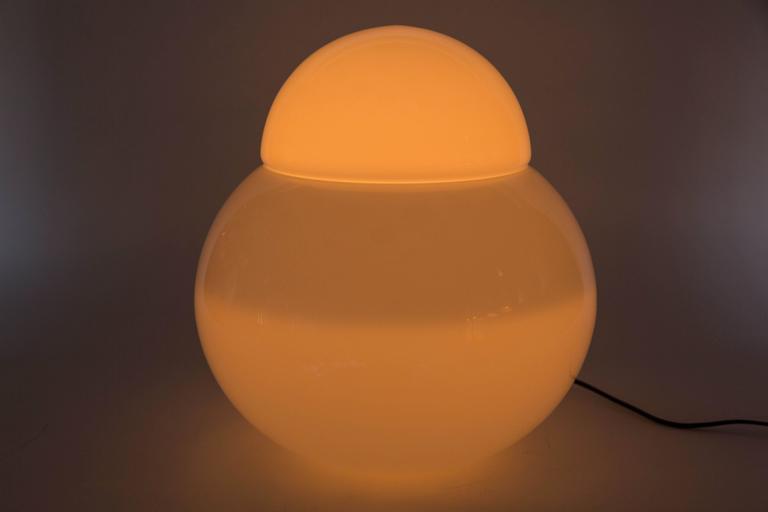 Large Sergio Asti 'Daruma' Table Lamp for Fontana Arte For Sale 1