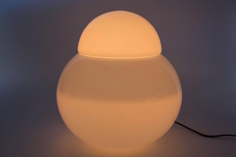 Large Sergio Asti 'Daruma' Table Lamp for Fontana Arte For Sale 2