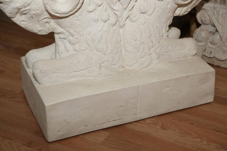 Double Ram S Head Table Base For Sale At 1stdibs