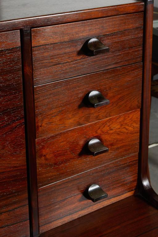 Mid Century Rosewood Secretary Desk by Arne Wahl 3