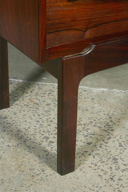 Mid Century Rosewood Secretary Desk by Arne Wahl 7
