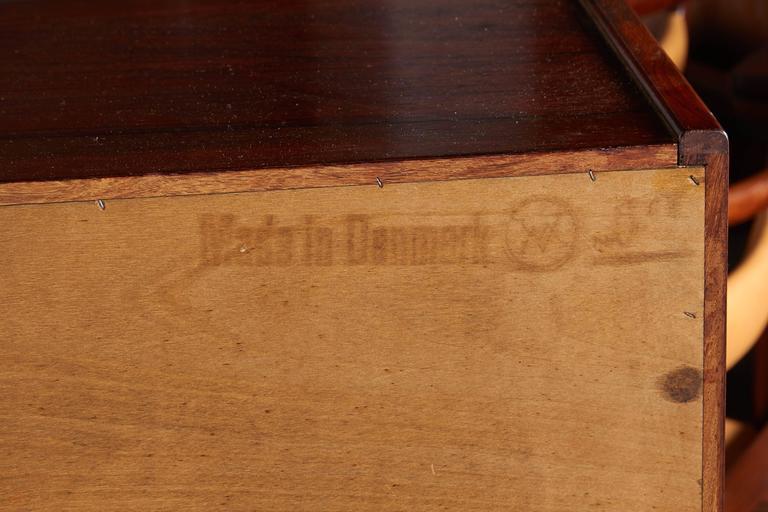 Mid Century Rosewood Secretary Desk by Arne Wahl 12