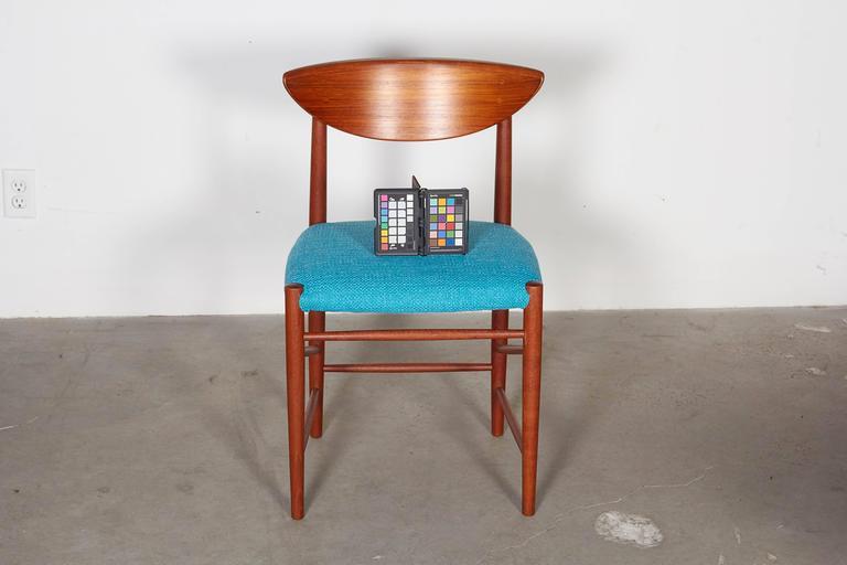 Teak Dining Chairs by Hvidt & Molgaard, Set of 6 2