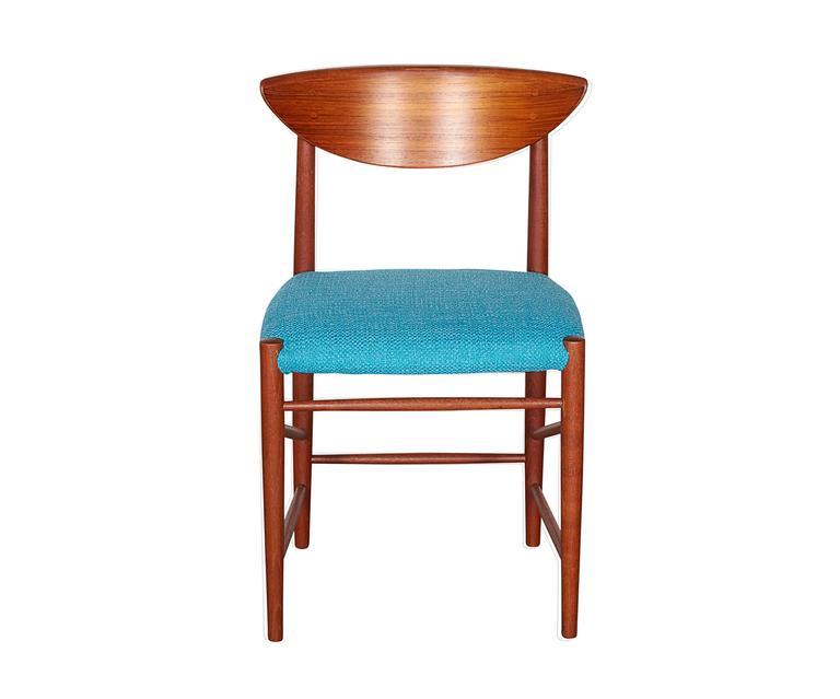 Teak Dining Chairs by Hvidt & Molgaard, Set of 6 3