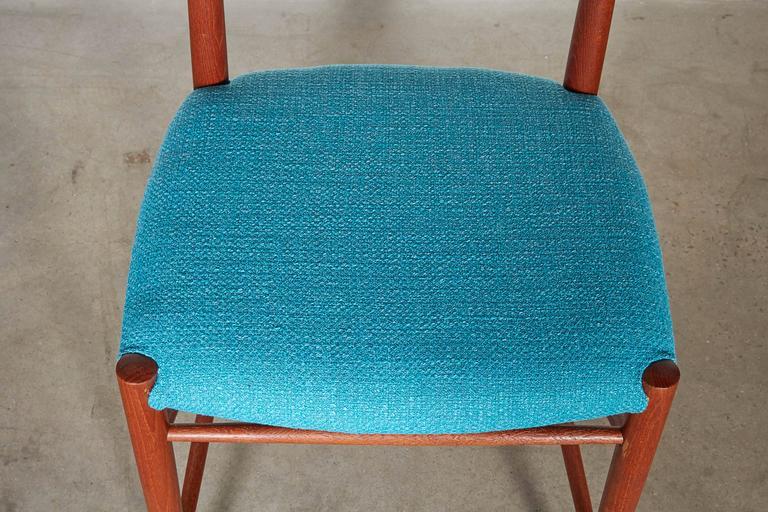 Teak Dining Chairs by Hvidt & Molgaard, Set of 6 4