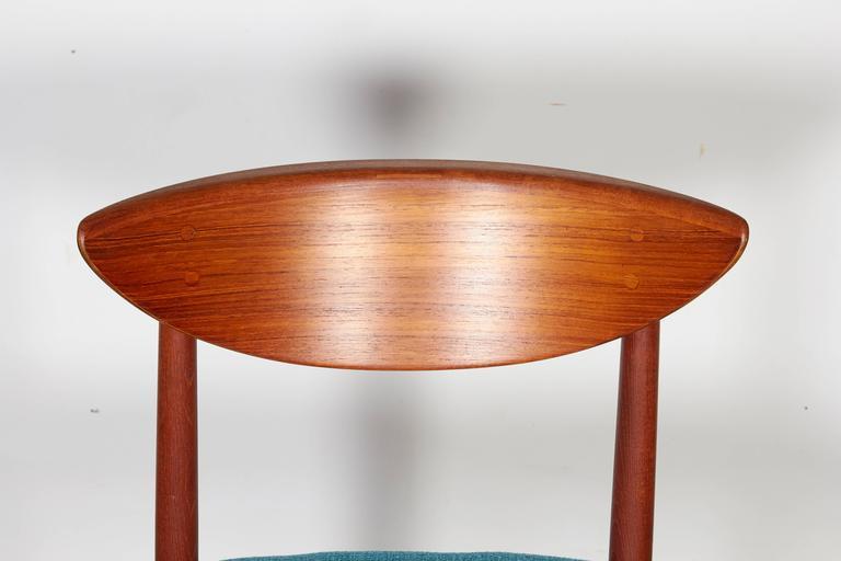 Teak Dining Chairs by Hvidt & Molgaard, Set of 6 5