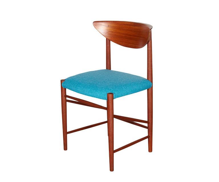 Teak Dining Chairs by Hvidt & Molgaard, Set of 6 6