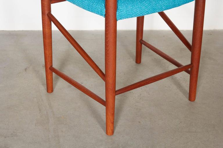 Teak Dining Chairs by Hvidt & Molgaard, Set of 6 9