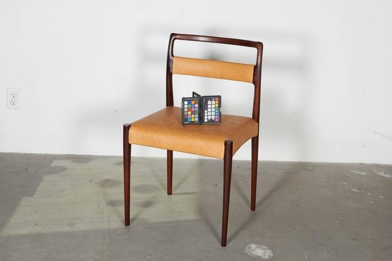 Danish Rosewood Dining Chairs, Set of 4 (12 Available) 2