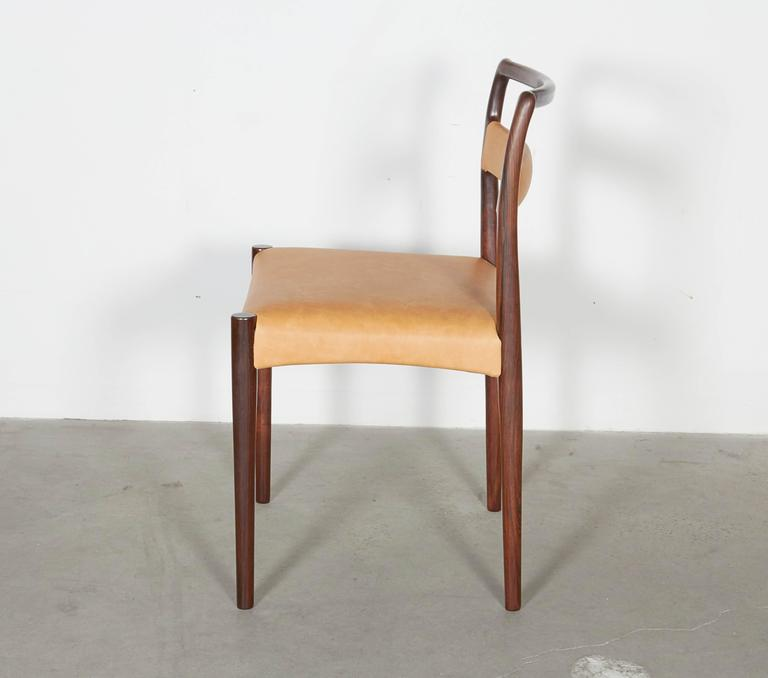 Danish Rosewood Dining Chairs, Set of 4 (12 Available) 4