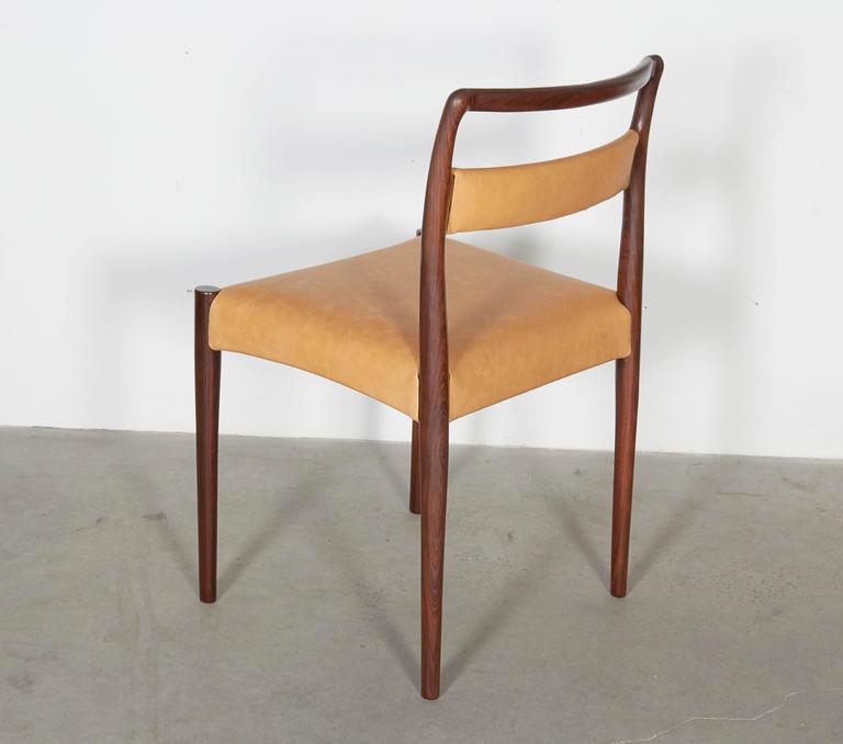 Danish Rosewood Dining Chairs, Set of 4 (12 Available) 5