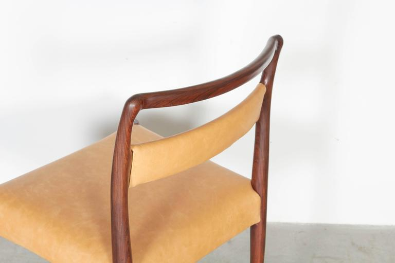 Danish Rosewood Dining Chairs, Set of 4 (12 Available) 6