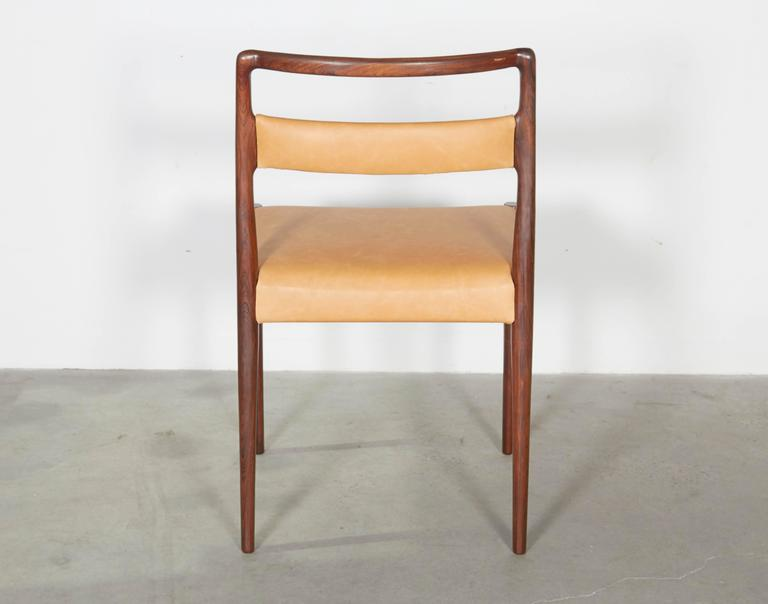 Danish Rosewood Dining Chairs, Set of 4 (12 Available) 7