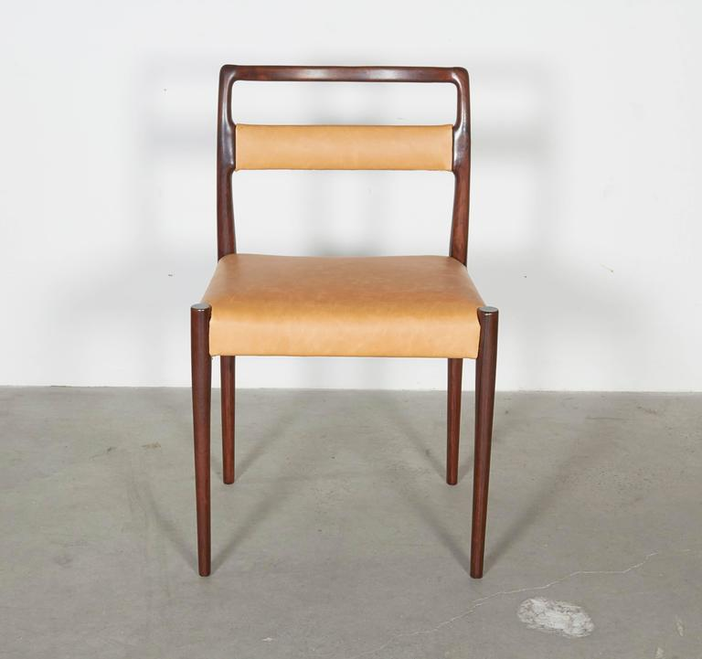 Danish Rosewood Dining Chairs, Set of 4 (12 Available) 8