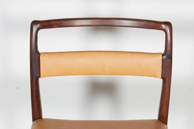 Danish Rosewood Dining Chairs, Set of 4 (12 Available) 9