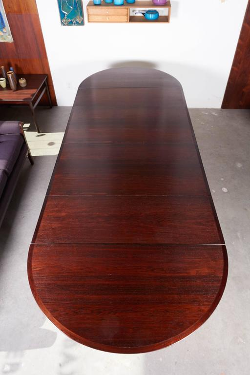 Rosewood Dining Table by Arne Vodder 9
