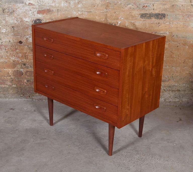 Teak Modular Dressers, Pair 2