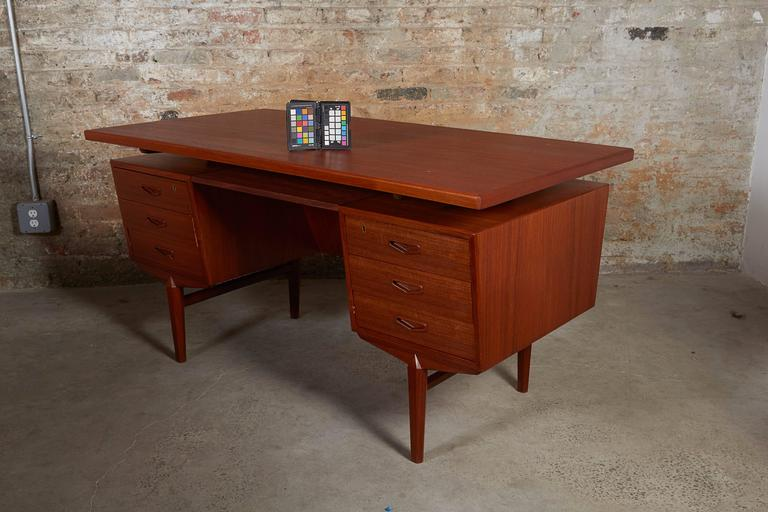 Danish Teak Desk 2