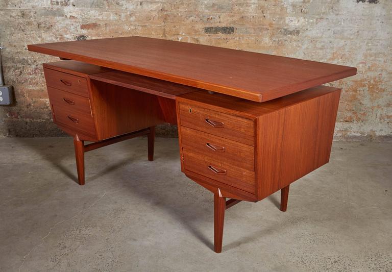 Danish Teak Desk 3