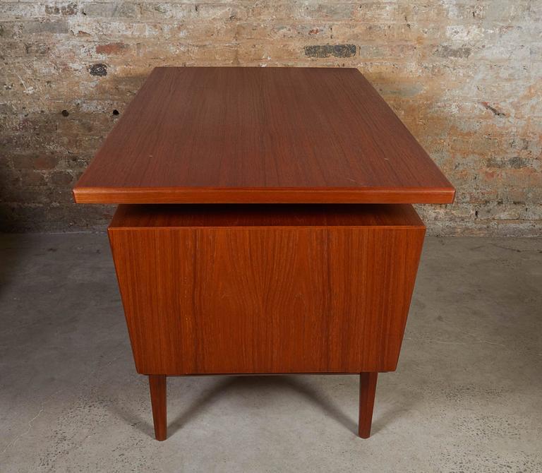 Danish Teak Desk 6