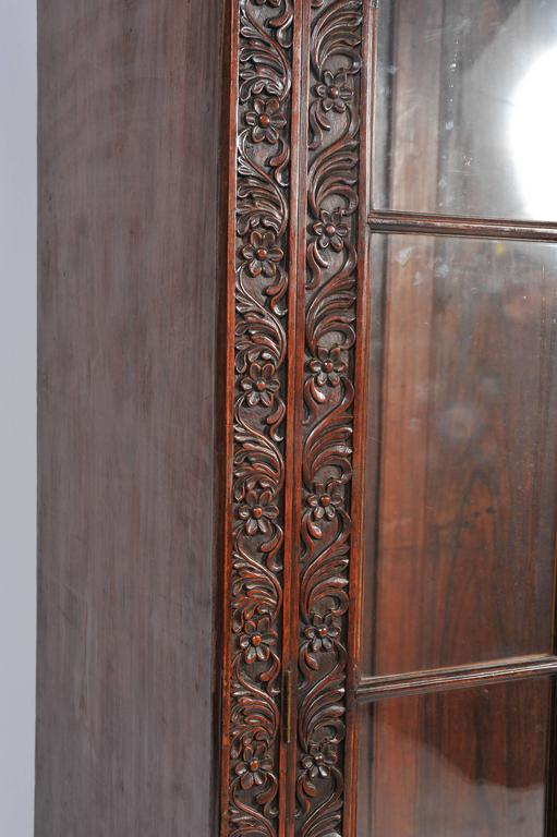Anglo-Indian Bookcase In Good Condition For Sale In Brighton, Sussex