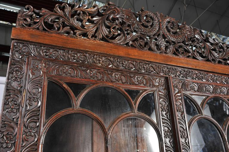 Anglo-Indian Bookcase For Sale 1