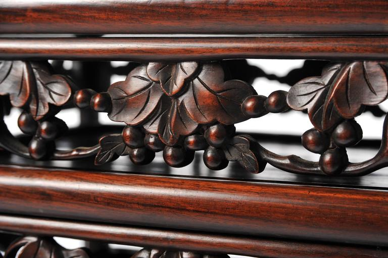 Nest of Four 19th Century Chinese Hardwood Tables For Sale 3