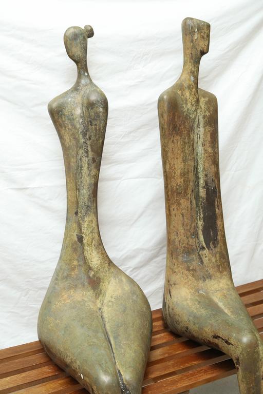 Lifesize Bronze Figures by Aharon Bezalel 2