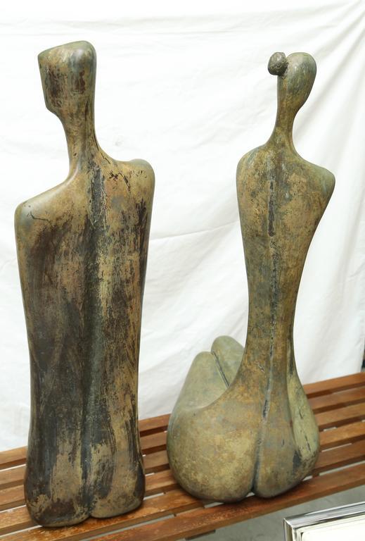 Lifesize Bronze Figures by Aharon Bezalel 5