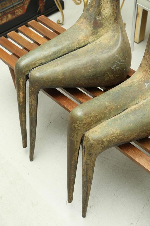 Lifesize Bronze Figures by Aharon Bezalel 7