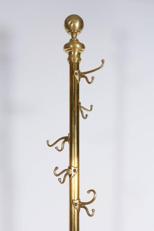 Victorian Italian Brass Coat Rack With Hairy Paw Feet At 40stdibs Custom Victorian Coat Rack