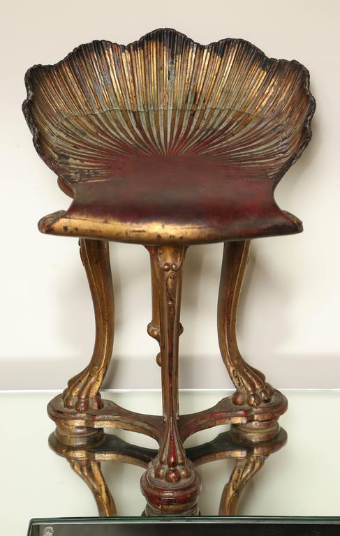 Venetian Grotto Style Piano Bench At 1stdibs