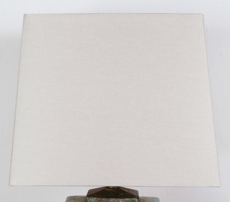 Raku Ceramic Lamp 3