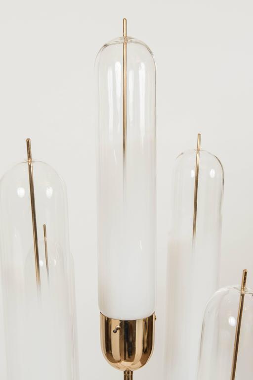 Murano Glass Floor Lamp Attributed to Vistosi, circa 1970 3