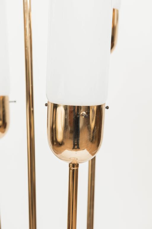 Murano Glass Floor Lamp Attributed to Vistosi, circa 1970 4