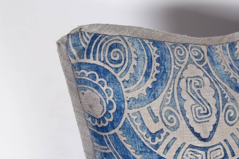 A Pair of Fortuny Fabric Cushions in the Peruviano Pattern 5
