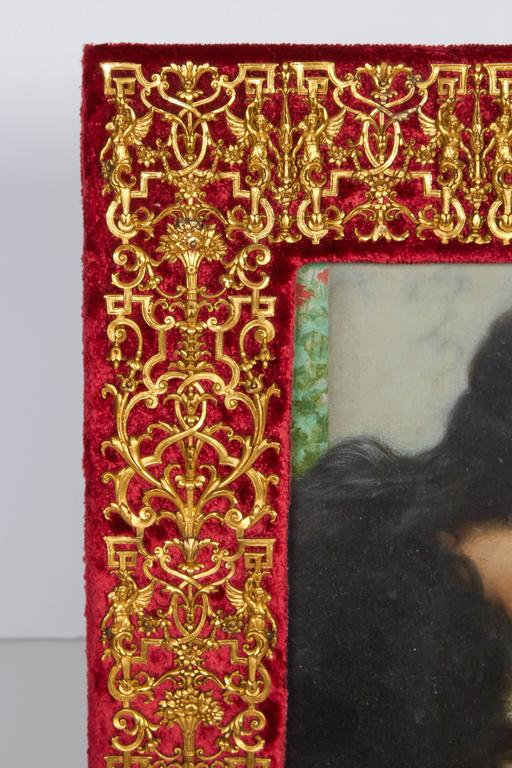 Pair of Louis XIV Style Bronze Doré Picture Frames by EF Caldwell 3
