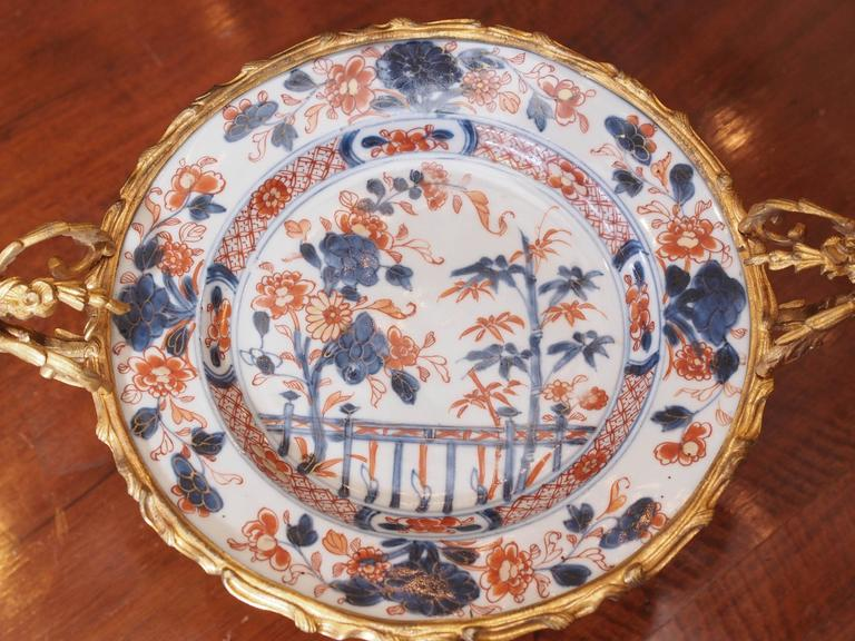Pair of Bronze-Mounted Imari Plates 4