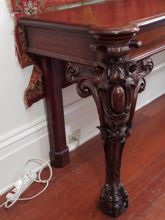 Large William IV Mahogany Serving Table 9