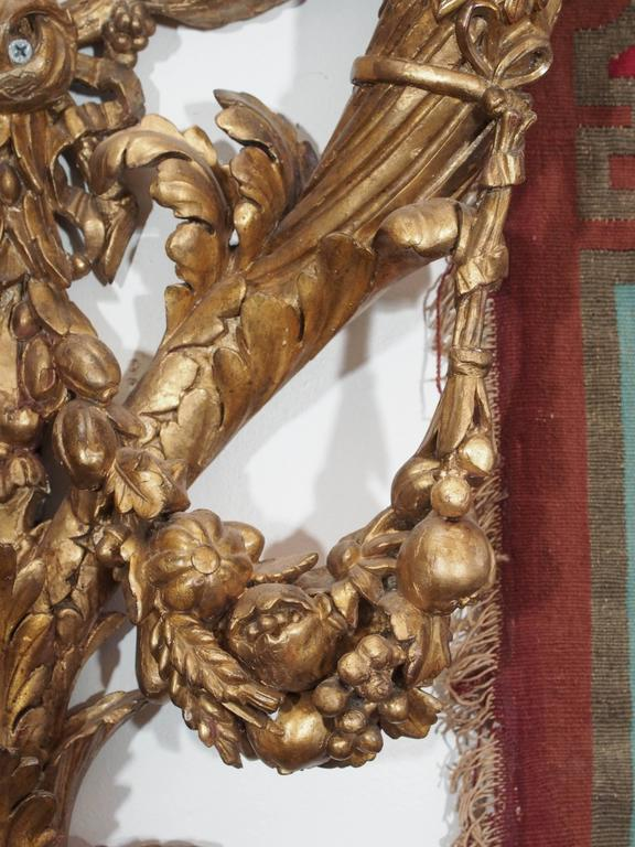Carved Wood Wall Sconces In Good Condition For Sale In New Orleans, LA