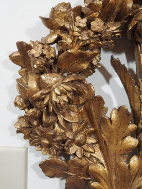 18th Century and Earlier Carved Wood Wall Sconces For Sale