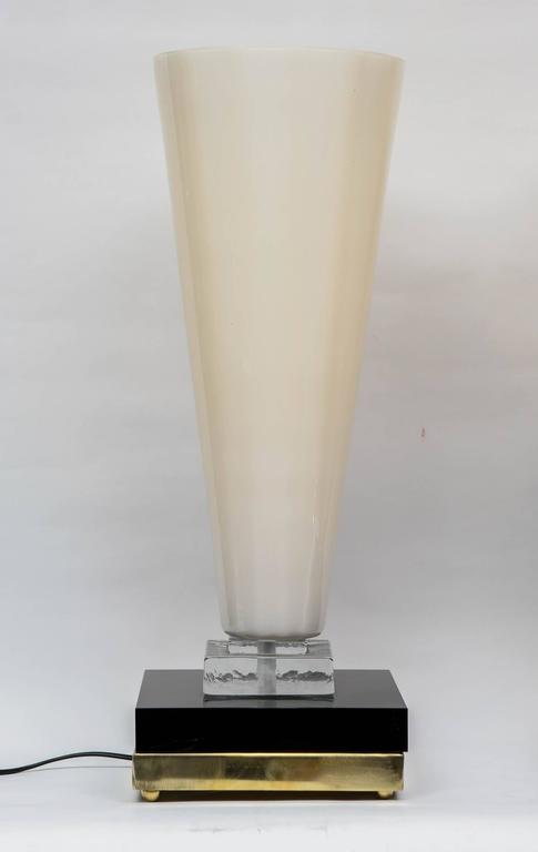 Pair of Table Lamps in Murano Glass 2