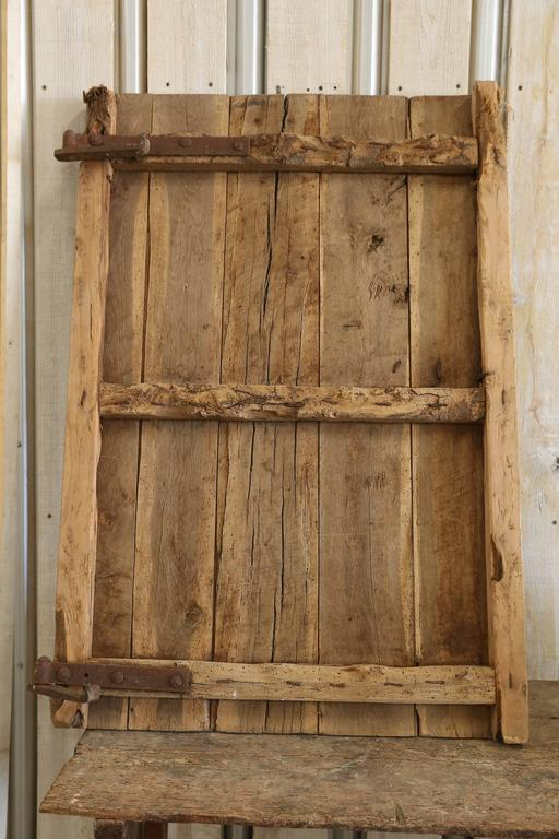 18th Century Or Earlier Chestnut Spanish Door With