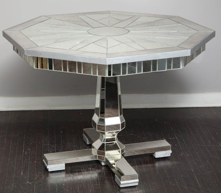 Mirrored Centre Hall or Dining Table 2