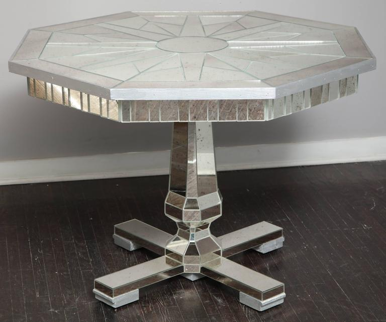 Mirrored Centre Hall or Dining Table 7