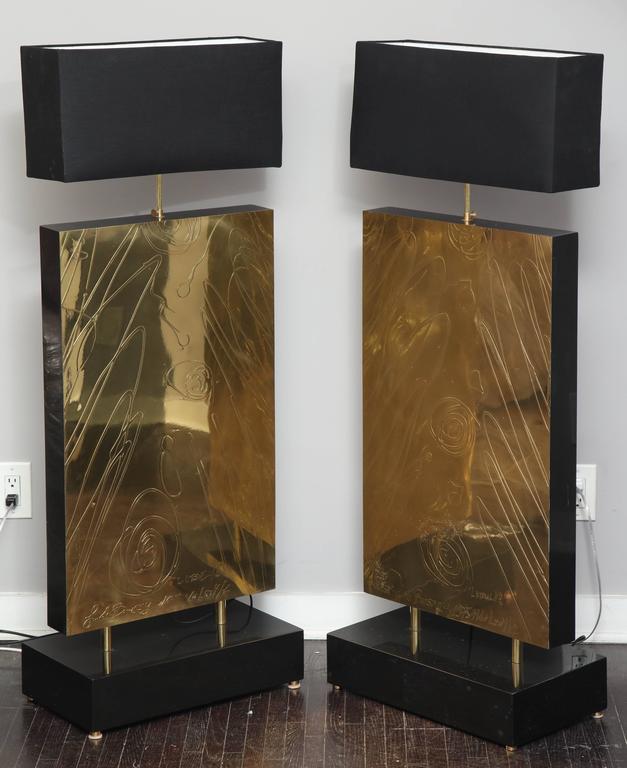 Enormous Brass Lamps, Belgium 8