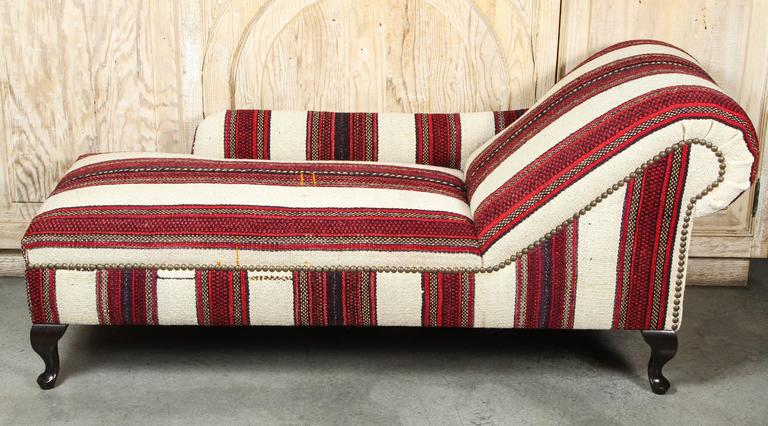 1930 39 s chaise lounge in east african and turkish wool at for 1930s chaise lounge