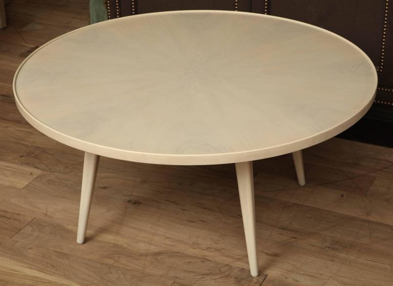 Whitewashed coffee table for sale at 1stdibs Whitewash coffee table