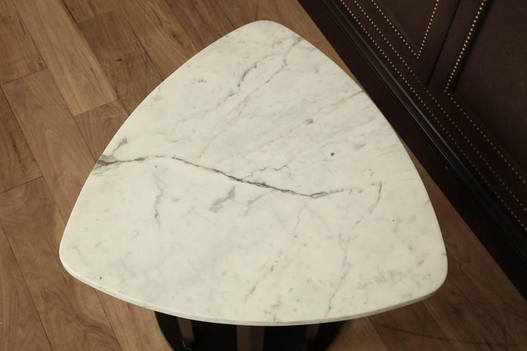 Mid-20th Century Marble Side Table For Sale
